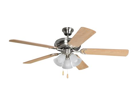 polished nickel ceiling fan 52 quot ceiling fan with blades included brushed polished