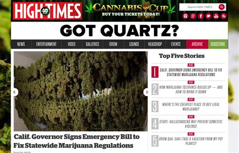 High Times Magazine Thc Detox by Top 10 Cannabis Cultivation Websites