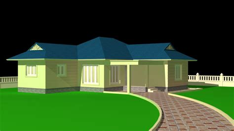 3d House Autodesk 3ds Max Autocad 3d Cad Model Grabcad House Plans 3d Max