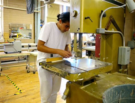 learn woodworking skills ralph r mckee career and technical education high school