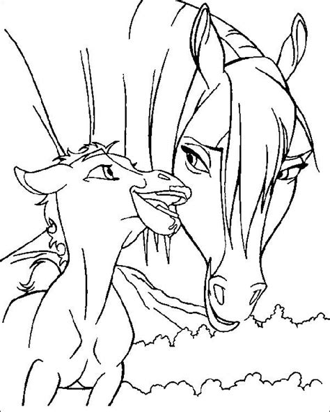 wild pony coloring pages coloring pages spirit the wild horse picture 4