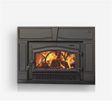 Fireplace Appliances by C350bpjotul Winterport Wood Burning Insert Black Paint