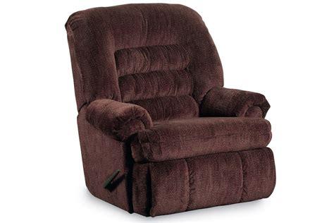 what is comfort cing sherman comfort king brandy recliner at gardner white