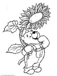 winnie pooh color disney coloring pages color plate coloring sheet printable