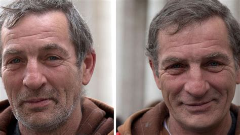 homeless haircuts before and after vatican offers free haircuts shaves and showers to rome s