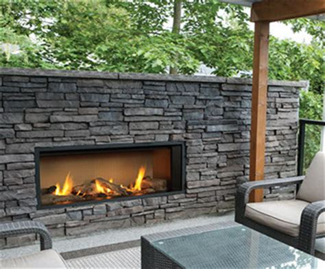 outdoor gas fireplace sbfireplace