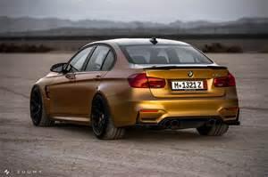 Bmw Gold Sunburst Gold Metallic Bmw M3 With Hre R101 Wheels