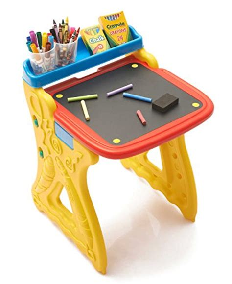 crayola to go table easel review crayola fold and go studio buy in uae