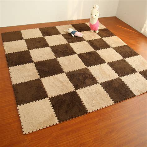 Velvet Newborn Set 8pcs In 1 Pakaian Anak 8pcs soft warm puzzle baby crawling mat foam shaggy velvet carpet door mat plush fabric