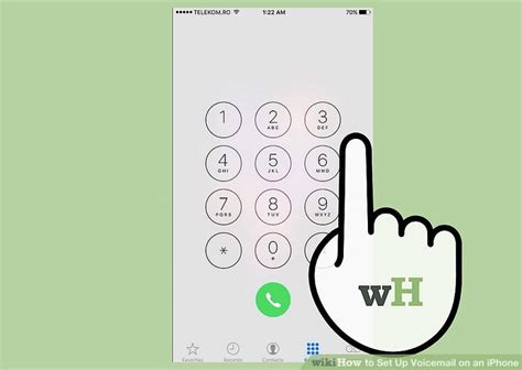 reset voicemail password iphone tmobile how to set up voicemail on an iphone wikihow