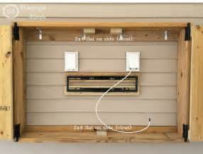 patio tv stand best 25 outdoor tv cabinets ideas on