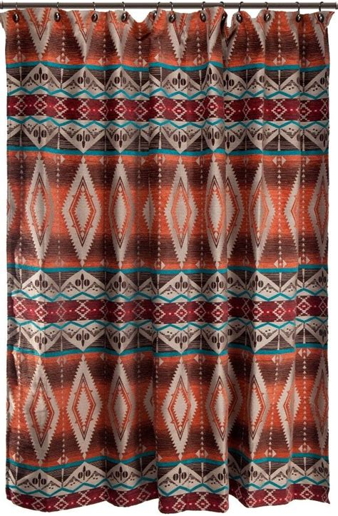 Western Fabric For Curtains 25 Best Ideas About Southwestern Shower Curtains On Pinterest Southwestern Bedding