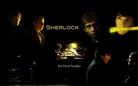 sherlock blind banker adventures in writing sherlock the blind banker