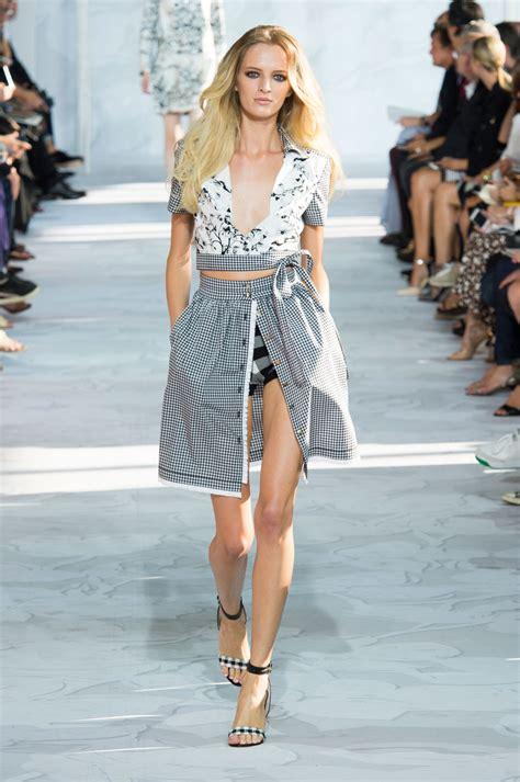 Diane Furstenberg Brings Influence To Nyc by Diane Furstenberg At New York Fashion Week 2015