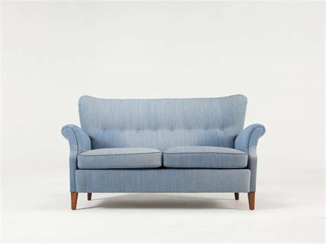 blue 2 seater sofa swedish blue two seat sofa 1950s for sale at 1stdibs