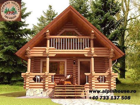 Small Cabin Houses by Case Ieftine Din Lemn Rotund Mai Aproape De Natura