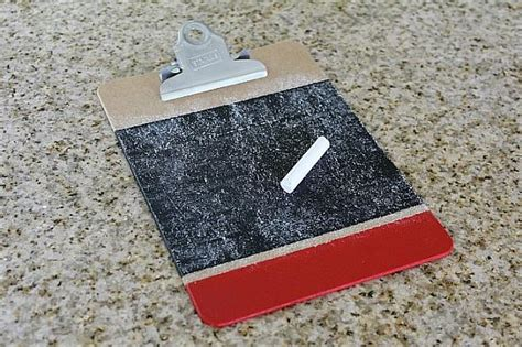 chalkboard paint seasoning decoart crafts chalkboard clip boards