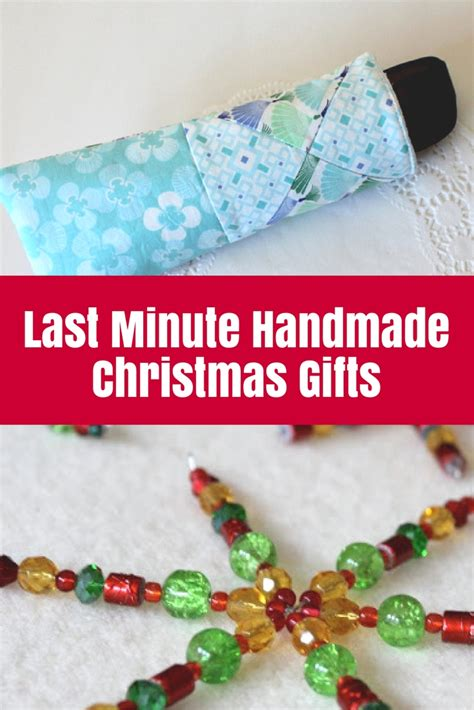 Last Minute Handmade Gifts - last minute handmade gifts the crafty mummy