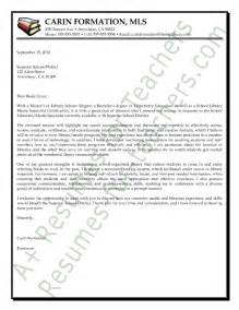 Cover Letter To Principal Librarian Media Specialist Cover Letter Sle And Principal Cover Letter Sles