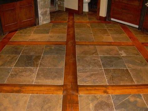 slate wood floors kitchens pinterest