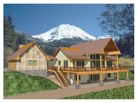 Mountain House Designs by Plan 012h 0041 Find Unique House Plans Home Plans And