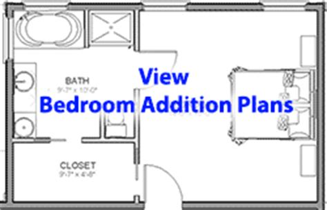 Bedroom And Bathroom Addition Floor Plans Bedroom Addition Plans Menu