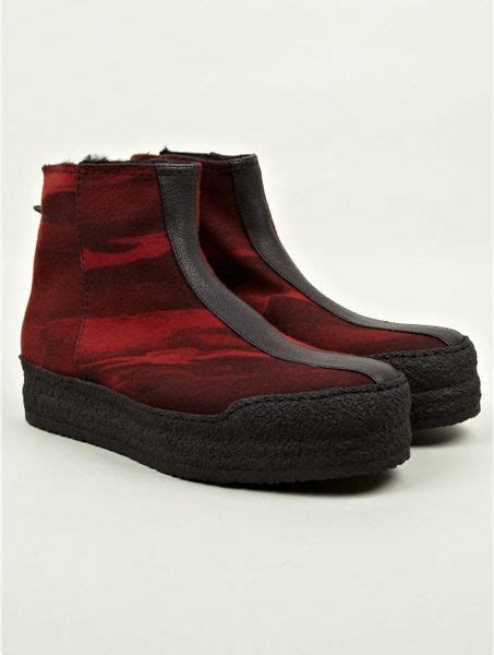 kenzo mens boots kenzo mens bomer boots in for lyst