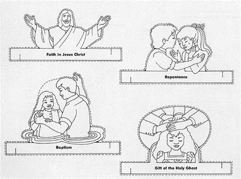 lds coloring pages repentance coloring pages lds lesson ideas page 3