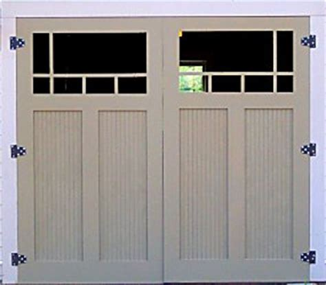 how to build swing out garage doors building traditional garage doors
