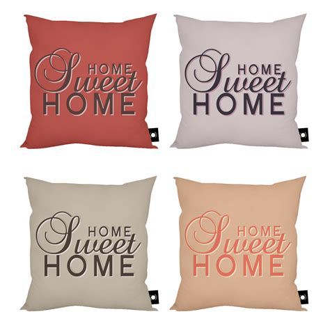 home sweet home home decor cushion