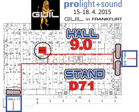 Plano Light Ticket by Guil Come To See Us At Prolight Sound Frankfurt