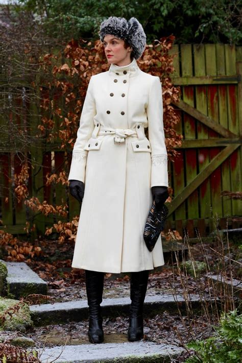 Fab Find Fabulous White Wool Coat by Fabulous White Statement Winter Coat