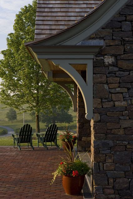 exterior corbels images  pinterest porches