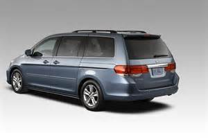 2008 Honda Odyssey Unveiled With 2008 Honda Odyssey Unveiled With A Accord Like Grille