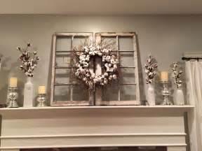 Window Frame Wall Decor by Magnolia Market Cotton Wreath Hgtv Fixer For The