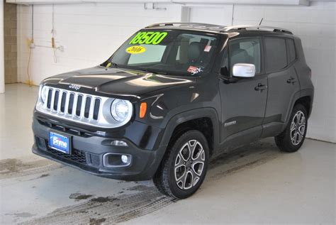 jeep suv 2016 black 2016 flex fuel jeep renegade suv for sale 117 used cars