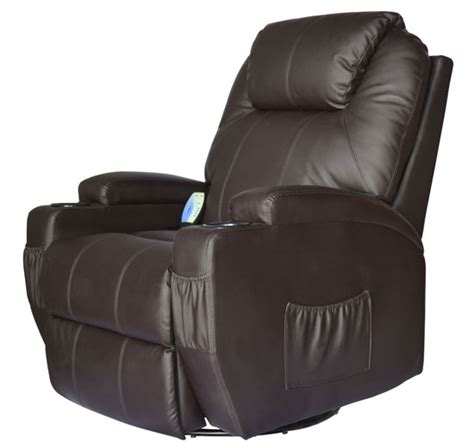 therapeutic chairs recliners homcom therapeutic heated massage reclining chair relaxing