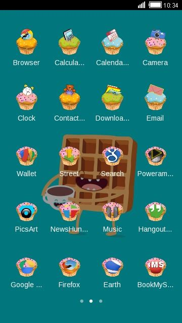 cute themes for oppo sweet cartoon coloros launcher theme for oppo free android