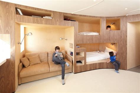 built in beds 12 inspirational exles of built in bunk beds contemporist