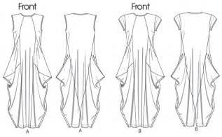 Blind Hem Vogue Patterns 1234 Misses Dress
