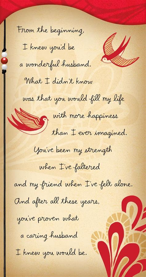 Our Love Story Valentine's Day Card for Husband   Greeting