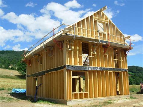 autoconstruction garage ossature bois fabricant maison ossature bois en kit construction