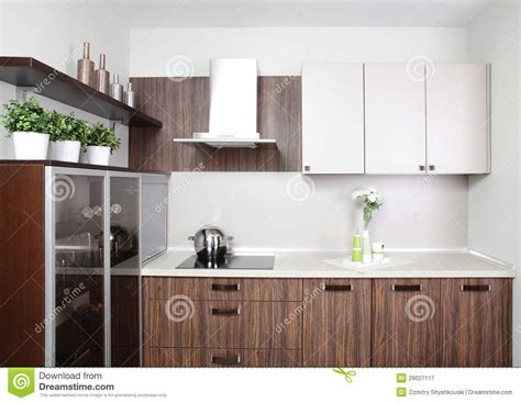 type de cuisine cuisine moderne dans le type europ 233 en photographie stock