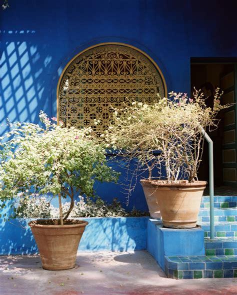 Moroccan Garden Ideas Majorelle Garden Photos Design Ideas Remodel And Decor Lonny