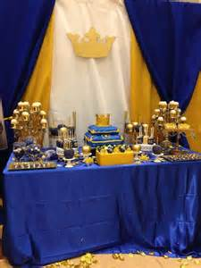 Royal Blue And Gold Baby Shower Ideas by Royal Baby Shower Baby Shower Ideas Shower Baby