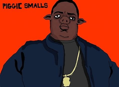 Biggie Smalls Meme - big pun rappers as animals line out the stranger