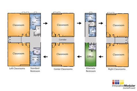 classroom floor plans new and used modular buildings available for immediate