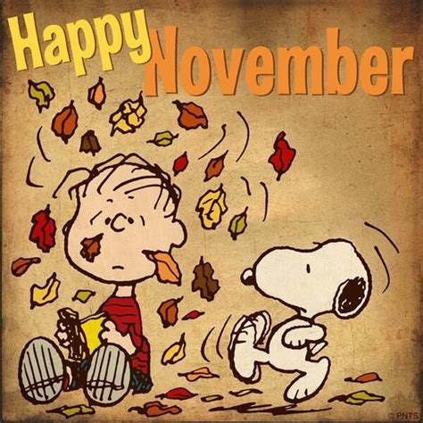 imagenes de welcome november november snoopy pictures photos and images for facebook