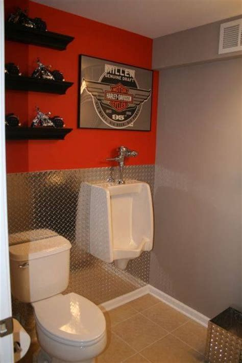 cave bathroom decorating ideas 19 best images about harley davidson on toilets upholstery tacks and garage
