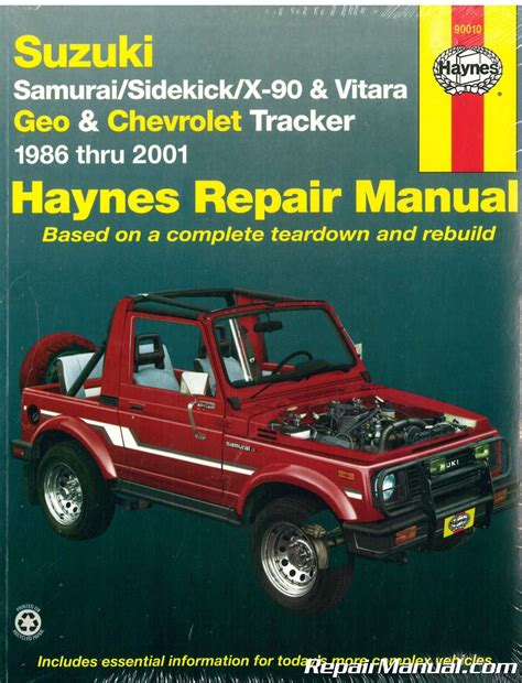 suzuki samurai 1986 1988 service repair manual pdf suzuki vitara workshop service repair manual download autos post